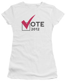 Juniors: Vote 2012 T-Shirt
