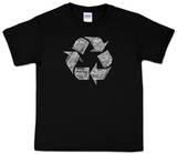 Youth: Recycle Word art Koszulka