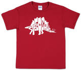 Youth: Stegosaurus Word art T-Shirt