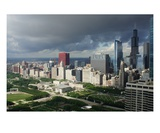 Stormy City Sunrise, Chicago Photographic Print by Gregory Patrick Lafferty