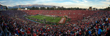 University of Wisconsin - 2011 Rose Bowl Panorama Print by  Madison / University Communications