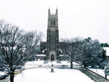 Duke University - Duke Winter Wonderland Photographic Print