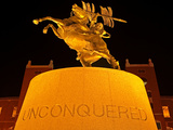 Florida State University - UNConquered Statue at FSU Photographic Print by Mike Olivella