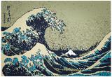 8-Bit Art Great Wave Fotky