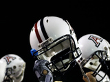 University of Arizona - Arizona Football Helmets Photographic Print