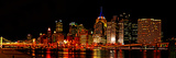 University of Pittsburgh - Pano of the Pittsburgh City Line at Night Photographic Print by Will Babin