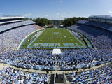 University of North Carolina - UNC's Kenan Stadium Fotografisk tryk