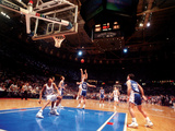 Duke University - The Shot: Duke vs Kentucky 1992 Fotografisk tryk af Durham Herald-Sun