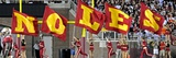 Florida State University - Noles Flags Photographic Print by Mike Olivella