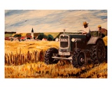 The Farmer Premium Giclee Print by Markus Bleichner