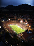 University of Colorado - Folsom Field Fotografisk tryk