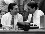 Duke University - Coaches Valvano and Krzyzewski Photographic Print by Leight Ann Hinshaw
