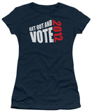Juniors: Get Out and Vote 2012 T-shirts