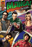 The Big Bang Theory-Comic Juliste