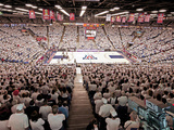 University of Arizona - White Out at McKale Center Fotografisk tryk
