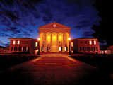 University of Mississippi (Ole Miss) - Lyceum at the University of Mississippi Poster