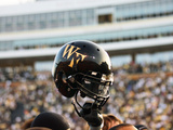 Wake Forest University - Wake Forest Helmet Fotografisk tryk