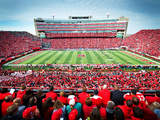 University of Nebraska - Nebraska Memorial Stadium Wall Mural Fotografisk trykk