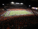 Oregon State University - Night Game at Reser Stadium Fotografisk tryk