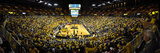 University of Michigan - Michigan Beats Ohio State at the Crisler Center Print by Lance King