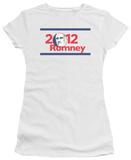 Juniors: Mitt Romney - 2012 Romney T-shirts