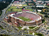 Florida State University - Aerial View of Doak Campbell Stadium Fotografisk tryk