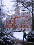 Vanderbilt University - Snowy Benson Hall Posters