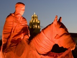 Texas Tech University - Old Will Is Wrapped in Red Photographic Print by Michael Strong