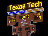 Texas Tech University - Texas Tech 39, Texas 33- November 1, 2008 Photo af Michael Strong