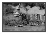 The Uss West Virginia at Pearl Harbor Prints by  U.S. Gov'T Navy