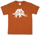Youth: Stegosaurus Word art Camiseta