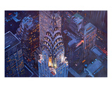 New York City Midtown Manhattan with Chrysler Buil Premium Giclee Print by Markus Bleichner