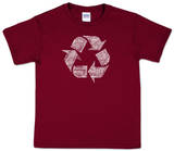 Youth: Recycle Word art T-Shirt