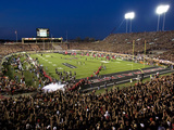 Texas Tech University - Jones AT&T Stadium Fotografisk tryk af Michael Strong