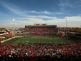 Texas Tech University - Jones AT&T Stadium Fotografisk tryk