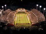 Wake Forest University - BB&T Field at Night Photo af John Grogan
