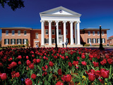 University of Mississippi (Ole Miss) - Lyceum Flowers Bloom Photographic Print