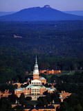 Wake Forest University - Chapel Aerial Photographic Print