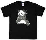 Youth: Panda Word art T-Shirt