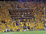 Louisiana State University - LSU Flags Poster