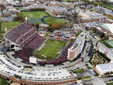 University of Maryland - Byrd Stadium Fotografisk tryk
