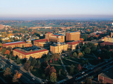 Purdue University - Fall Aerial Photo