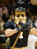 Purdue University - Pete Struts Photographic Print