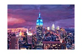Empire State Building Feeling Like A Blue Giant Prints by Markus Bleichner