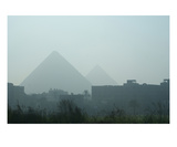 Icons in the Mist, Egypt Photographic Print by Gregory Patrick Lafferty