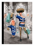 The New Yorker Cover - September 10, 2012 Regular Giclee Print by Ian Falconer