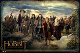 The Hobbit-Cast Plakát