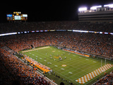 University of Tennessee - Neyland Night Game vs NIU Photographic Print