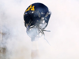 West Virginia University - West Virginia Helmet Poster