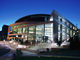 University of Pittsburgh - Night at the Petersen Center Photographic Print by Will Babin